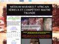 MEDIUM MARABOUT AFRICAIN SÉRIEUX ET COMPÉTENT MAITRE TIKANDE