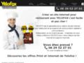 Voir la fiche détaillée : Yélofox : création de site web pour restaurants