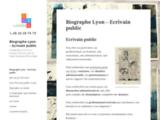 Ecrivain public - Traductrice anglais Rhône Alpes