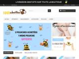 La boutique des objets et des vêtements abeilles