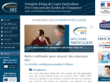 Cours particuliers concours HEC