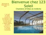 CHAMBRES & TABLE D' HOTES EN  ARDECHE