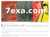 Art contemporain par 7exa.com – galerie d'art contemporain et centre d'art