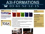 A3I Formations, spécialiste du DIF, informatique et bureautique à domicile ou sur site en formation individuelle ou collective.