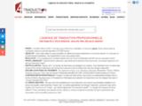 A4 TRADUCTION, Agence de traduction et d'interprétariat, société de traduction