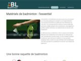 accessoires de badminton