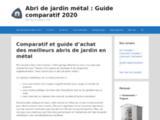 Abri de jardin métal : Guide comparatif des meilleurs modèles