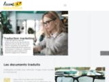 Services de traduction de documents juridique et marketing