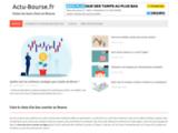 Actu-Bourse.fr - Toute la bourse en temps réel