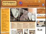 A & D Sculptures - Vos photos sculptées sur bois