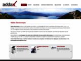Addax - Cablage de carte électronique et prototypage de circuit électronique
