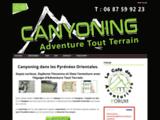 Canyoning à Céret. Pyrénées Training. Canyon débutant et confirmé.
