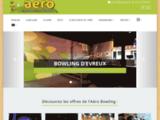 Bowling 20 pistes Aéro Evreux.