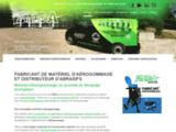 Fabricant d'aérogommeuses et de matériel d'aérogommage
