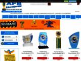 vente en ligne de coupes médailles trophée sportif et entreprise