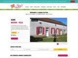Vente de maison et de terrain sur Charny avec l'agence immobilière agence du pays située a Charny