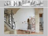 céramiste, sculpture, terre gravée