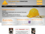 Ailliot Formations : Formations sécurité sur les chantiers, formation CACES engins de chantier.