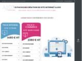 Ajoo - Agence de création de site web - Référencement naturel SEO