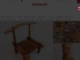 Vente d'Artisanat africain, chaise a palabre, Jeu awal?, Boubou africain - Akwab-art.com