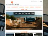 Mobilier de jardin | Alexander Rose France, le spécialiste du mobilier de jardin haut de gamme
