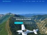 Ecole de pilotage et baptême en ULM dans les Hautes-Alpes