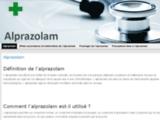 Alprazolam - Définition, informations et explications