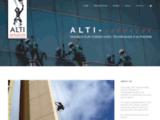 ALTI SERVICES - travaux sur cordes avec techniques d alpinisme -  accueil