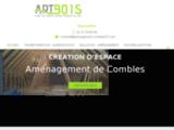 Aménagement de Combles à Bridoré en Indre-et-Loire (37) - Artbois Mareuil