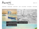 Un aquarelliste passionné : Patrick Amorsi