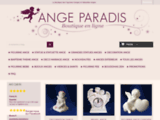 Boutique Ange : STATUETTES ANGES ET DECORATION ANGE, FIGURINE ANGE CHERUBINS - Ange-Paradis