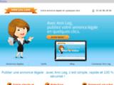 Ann Leg : votre annonce légale en quelques clics partout en France