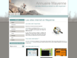 Annuaire des sites web mayennais
