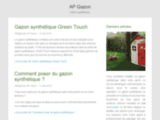 Gazon synthétique (vente et pose) à la Ciotat (13) - AP gazon