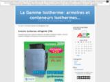La Gamme Isotherme: armoires et conteneurs isothermes…  » Armoire isotherme réfrigérée 250L