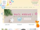 Achat tétines personnalisées et cadeaux bébé