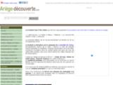 ARIEGE DECOUVERTE L ariege sur Internet : Annuaire des sites internet ariégeois,  toute l'information culturelle et touristique.