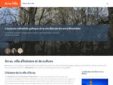 Arras Ville, portail web pour mieux s'informer sur Arras