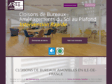 Cloisons de Bureaux Amovibles sur Paris