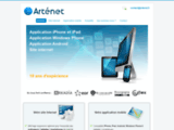 Création de sites Internet et d'application IPhone Besançon - Arténet