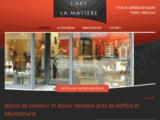 L'Art et la Matière, bijoux de créateurs à Héricourt, en Haute-Saône