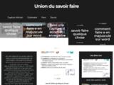 Union des savoir faire de Puy l'Evèque 46