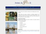 Artiste de Paris. L'atelier de décoration et conseil. Paris.