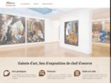 Galerie d'art, lieu d'exposition et de commerce