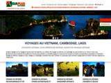 Voyages et circuits au Vietnam, au Laos, au Cambodge, au Myanmar avec Asiaplus Voyages