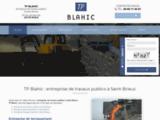 Travaux publics, assaisnissement et terrassement à Plélo