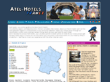 Atel hotels France : hotel reservations online. The reflex to book hotel room.