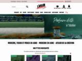 Mercerie et Perles en ligne – Tissus et Rubans, Tricot, Boutons, Cours