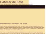 Cours de peinture dans Paris 20, l'Atelier de Rose