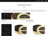 Commandez votre Caviar - Atelier du Caviar - Vente en ligne